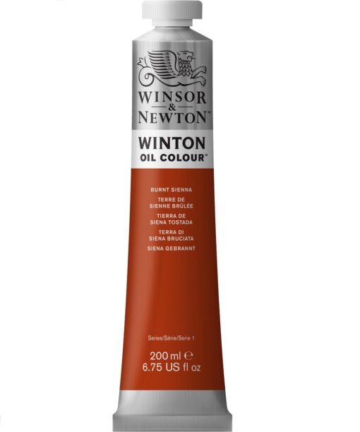 W&N Winton 200ml Burnt Sienna öljyväri