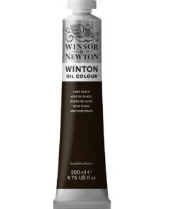 W&N Winton 200ml Lamp Black 337