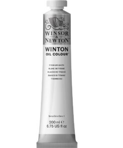 W&N Winton 200ml Titanium White 644